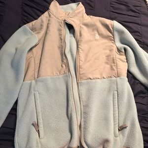 Blue fleece North Face